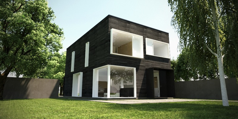 Jetson green contemporary infill is the new prefab for Modern prefab homes mn