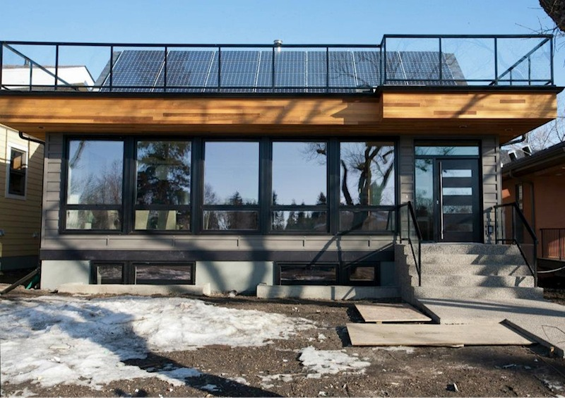 Jetson Green NZE Showhouse Finished in Edmonton