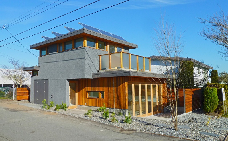 Jetson Green Net Zero Sips Laneway House With Solar