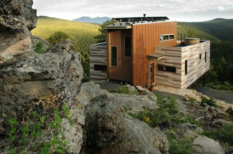 Jetson Green - Solar Shipping Container House in Colorado