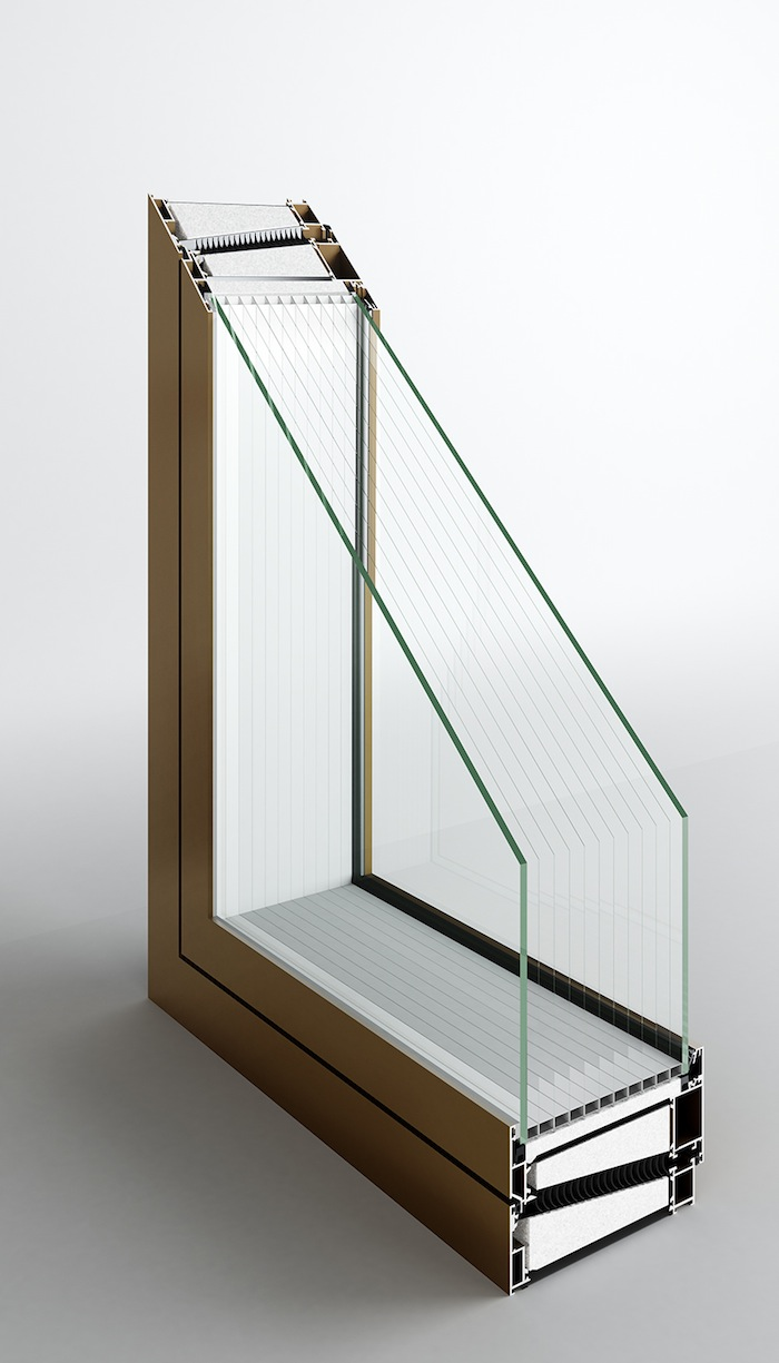 Glazed Insulated Units : Jetson green light glazed window on the horizon