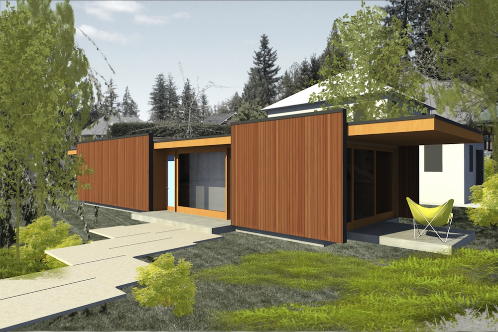Jetson green taliesin mod fab now available from lindal for Lindal cedar home plans