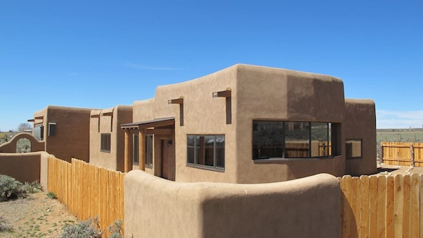 Jetson green leed platinum passive house in taos for New mexico house plans