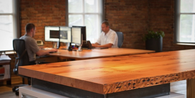 Viridian Offers FSC Reclaimed Tabletops