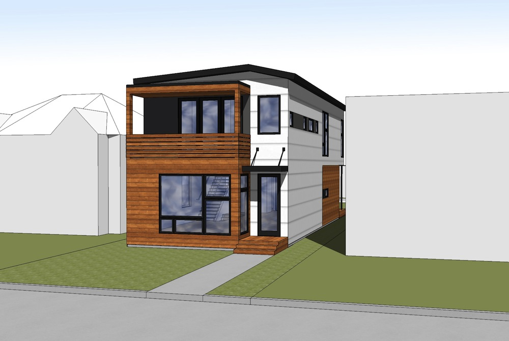 Jetson green hive makes a b line prefab for calgary for Hive container homes