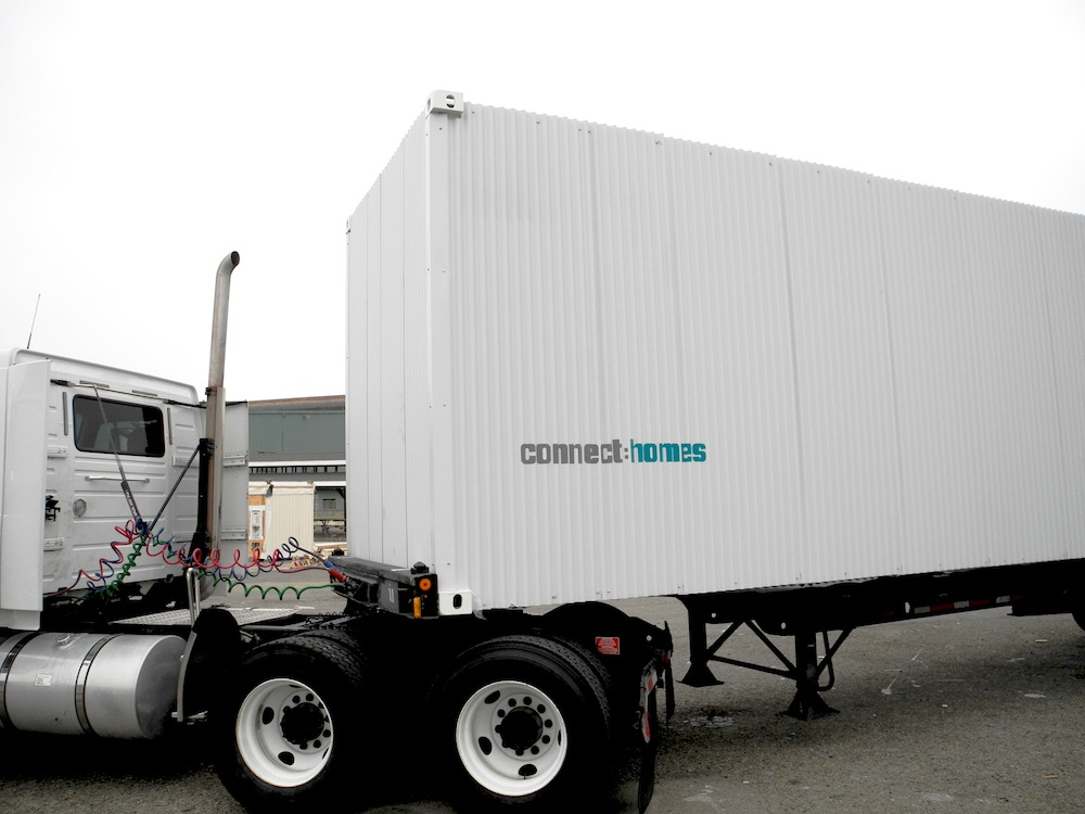 Jetson green connect homes innovates in silicon valley - Intermodal container homes ...