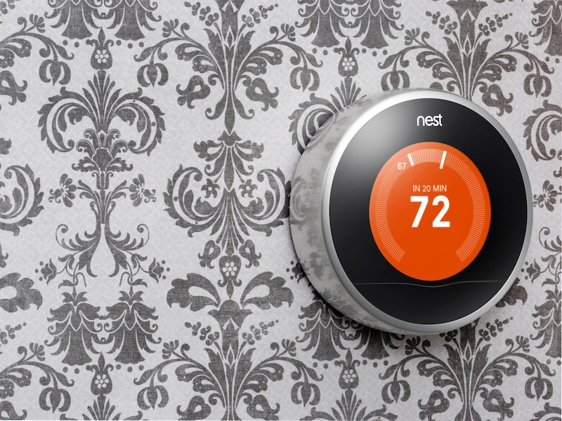 Nest Learning Thermostat 2nd Gen - wall