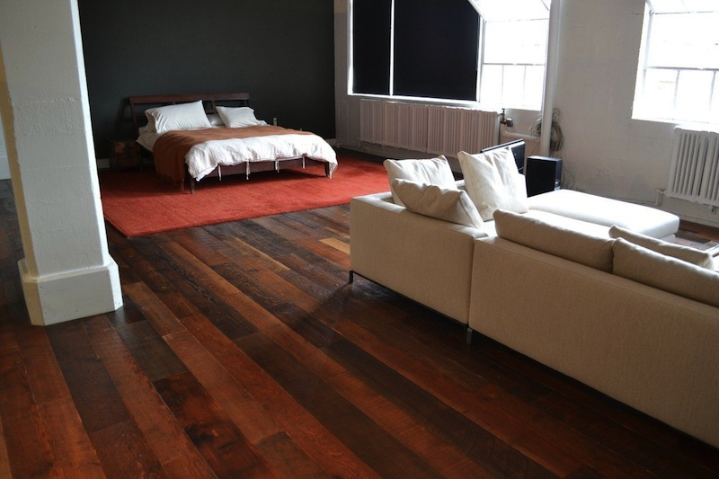 How to Remodel with Reclaimed Wood Floor - Jetson Green - Viridian Wood