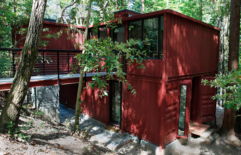 Jetson green six oaks container house in california - Container homes california ...