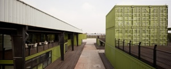 Container Architecture in Shanghai at Tony's Farm