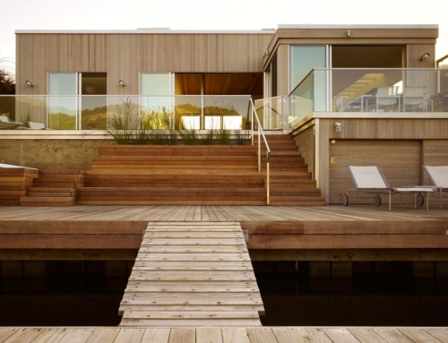 Seadrift Residence is a Zero-Energy Home With Natural, Stylish Features