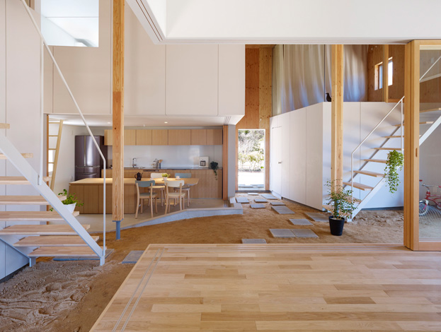 Jetson Green Japanese Home Offers A Minimalist Design