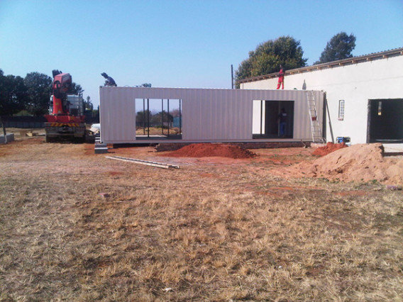 Container Home Build 2