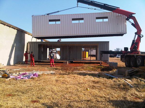Jetson green shipping container home for orphans - How to make a home from shipping containers in new ...