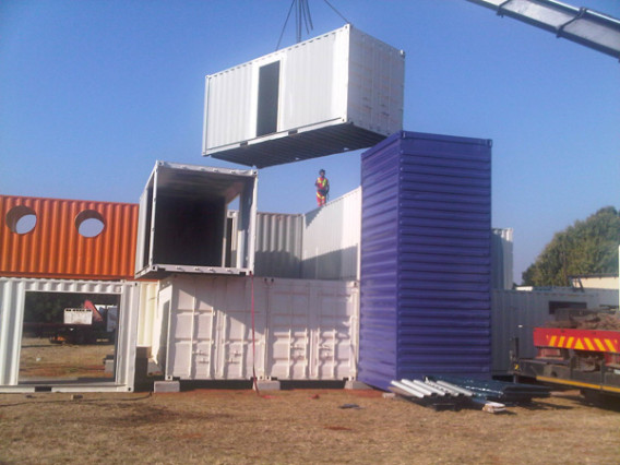 Container Home Build 6