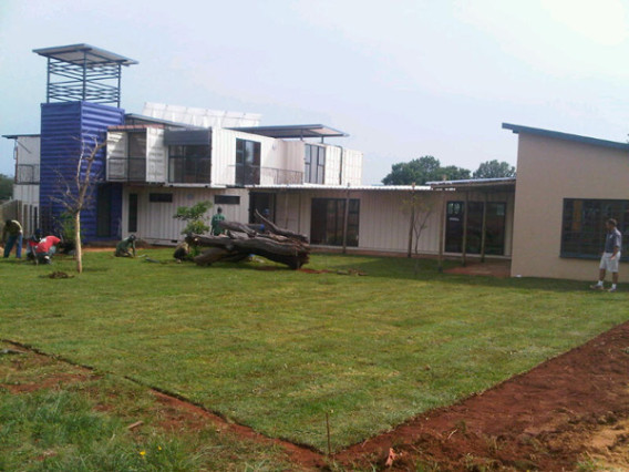 Container Home Build 9