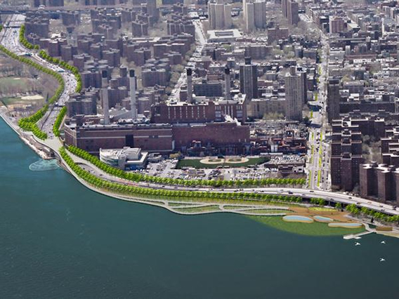 New York City East River Blueway Plan
