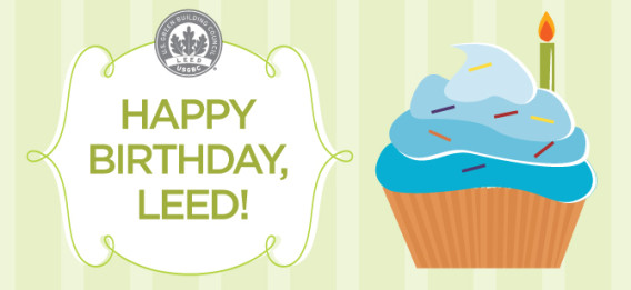 Happy Birthday LEED
