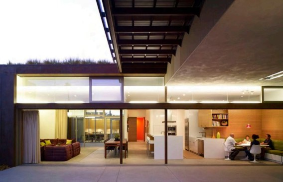 Yin-Yang-Solar-Powered-House-interior