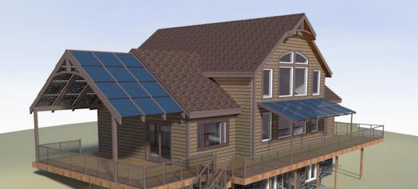 Solar-Roof-Structures
