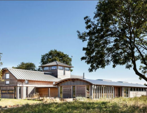 Former WWII Military Base is Now a Sustainable Farmhouse