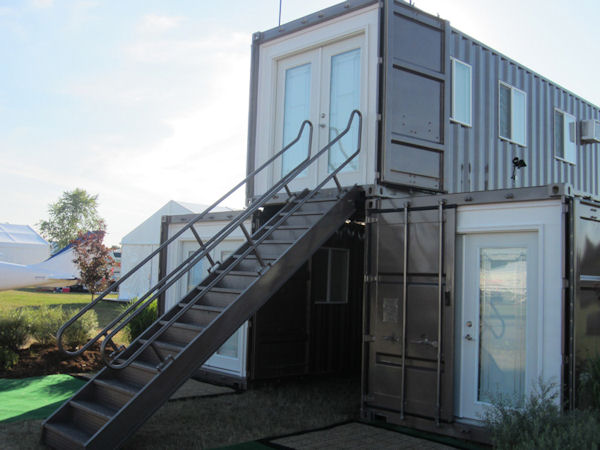 Jetson green mods international donates shipping container home to family displaced by - Are shipping container homes safe ...