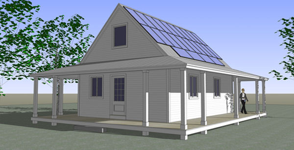 jetson green vantem panels introduces net zero kit house