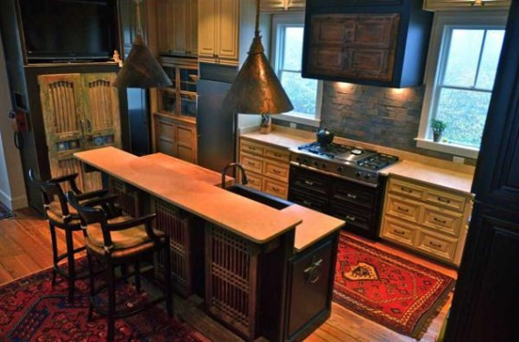 Salvaged-Cabin-Kitchen