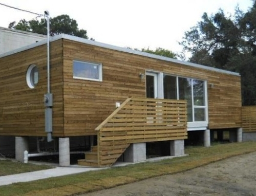 First Container Home in New Orleans