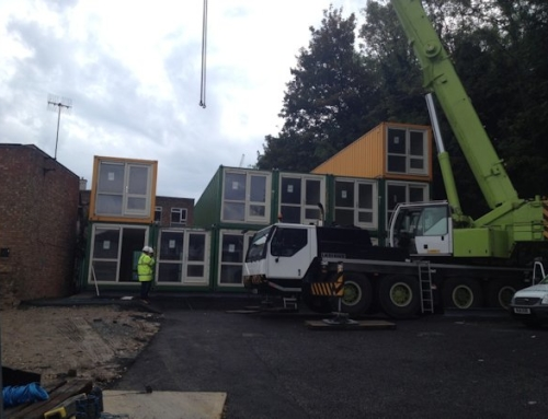 Shipping Containers Serve as Homes for Brighton Homeless