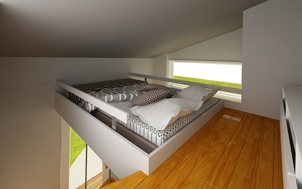 Nomad Micro Home Bedroom