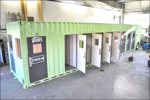 Jetson green campbell river homeless hope to winter in shipping containers - Are shipping container homes safe ...