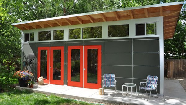 Prefab Garage With Studio