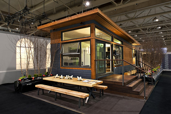 Jetson green minihome solo 40 could be the prefab of the for Tiny house kits california