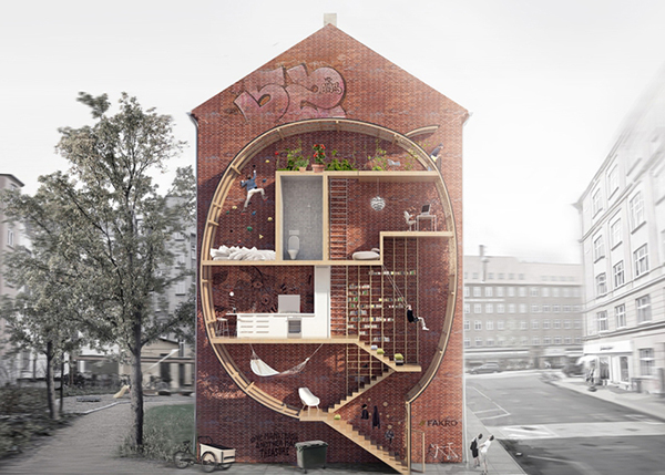 designers mateusz mastalski and ole robin storjohann from denmark have come up with an innovative way to produce affordable housing for people living in - Micro Houses