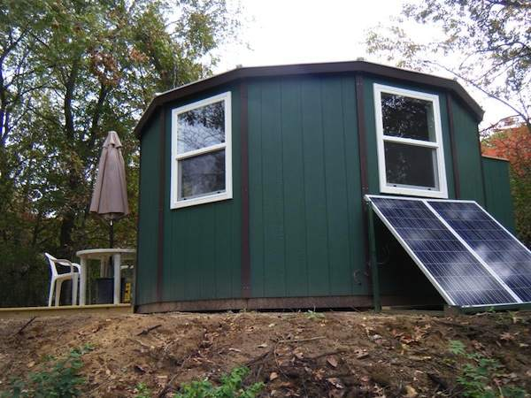 Build It Yourself Campers Build It Yourself Cabin Kits: A Solar Powered Yurt Cabin You Can Build
