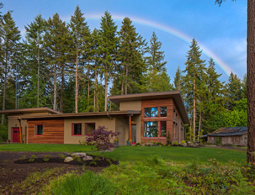 A Contemporary Passive House Built in the Northwest