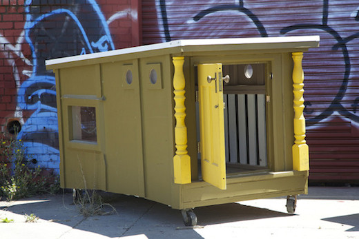 Jetson Green Tiny Homes For The Homeless Made Of