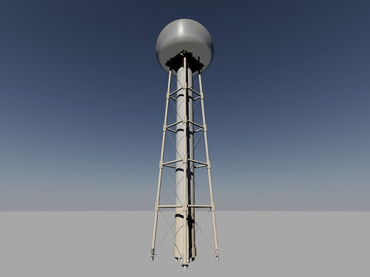 tesla-tower-prototype