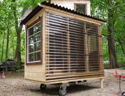 Relax Shacks Builds a Micro Reading Pod for NYU Professor