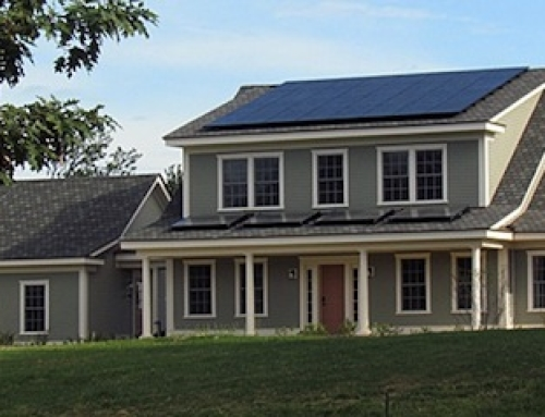 Year Long Study of Net-Zero Energy Home Completed Successfully