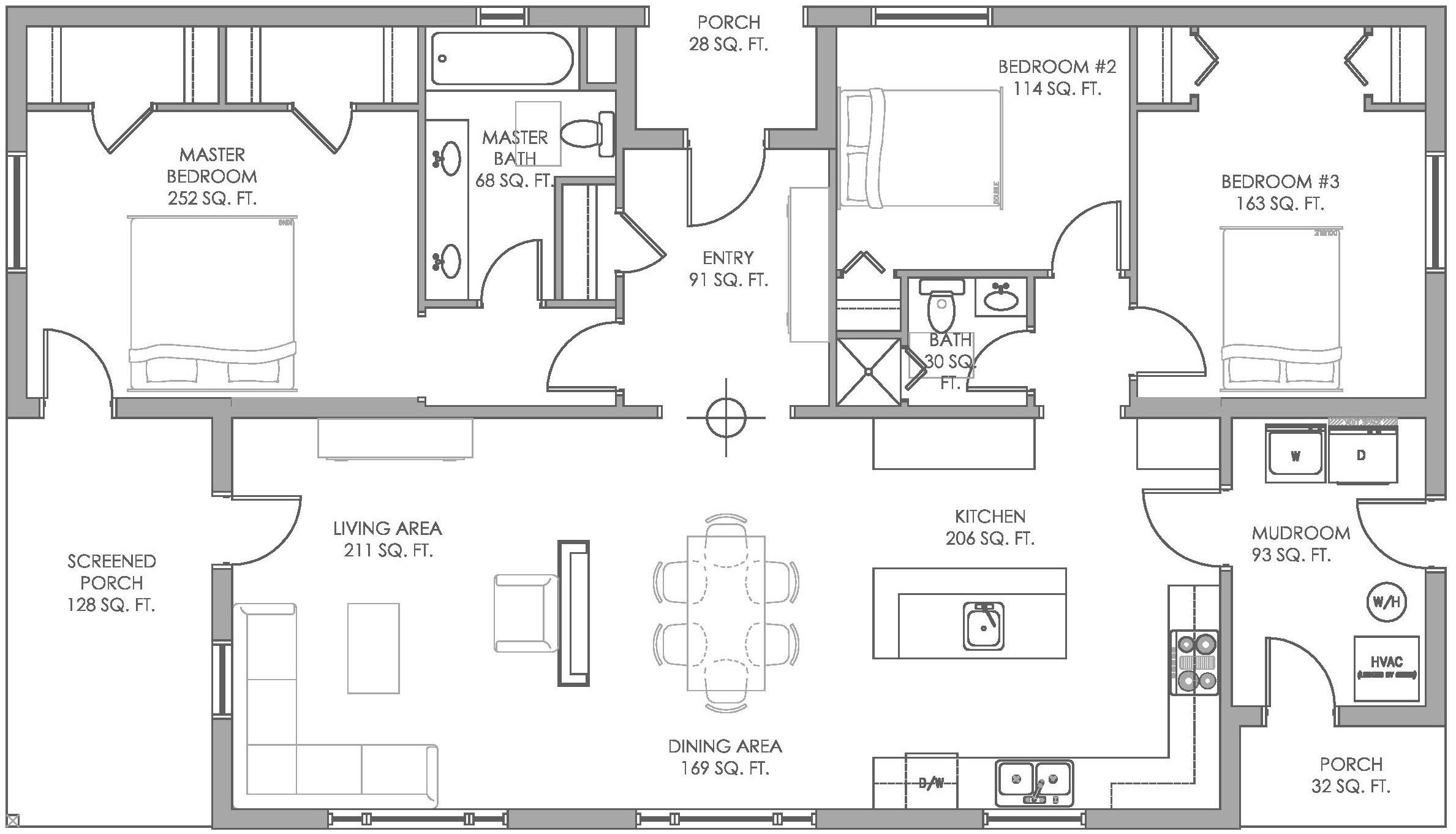 Net Zero Homes Floor Plans