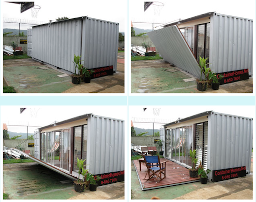 Simple Yet Cozy Shipping Container
