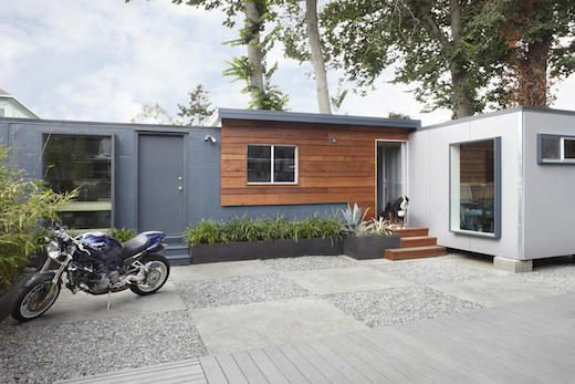 Jetson green shipping containers used to create a modern residence and home office - Container homes california ...