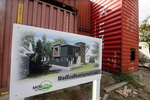 400Shipping Container House