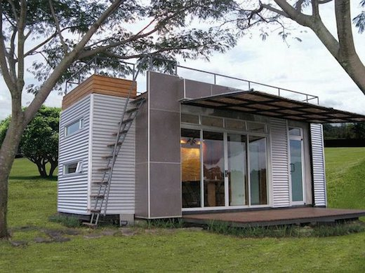5 Awesome Shipping Container Retreats