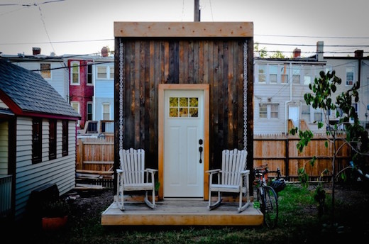 Jetson Green A Great Tiny House Goes up in Washington DC