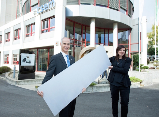 Swiss Company Develops White Solar Cells