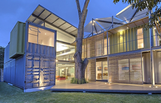 Jetson Green - Modern Shipping Container Home Built in Costa Rica