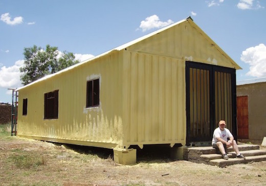 Jetson Green Youth Pastor Builds Shipping Container Homes For The Less Fortunate